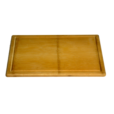 ECO Large Flattened Bamboo Cutting Board With Groove