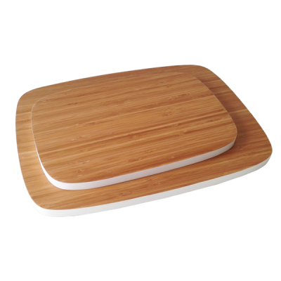 Color Edge Bamboo Cutting Board