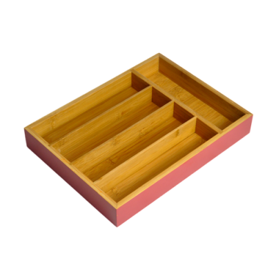 Small colored Flatware  Organizer