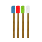 Bamboo And Silicone Spatula